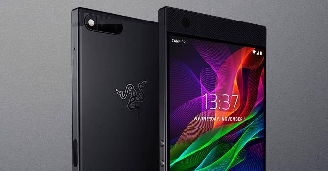 Razer Phone 2, czyli smartfon do gier, w produkcji