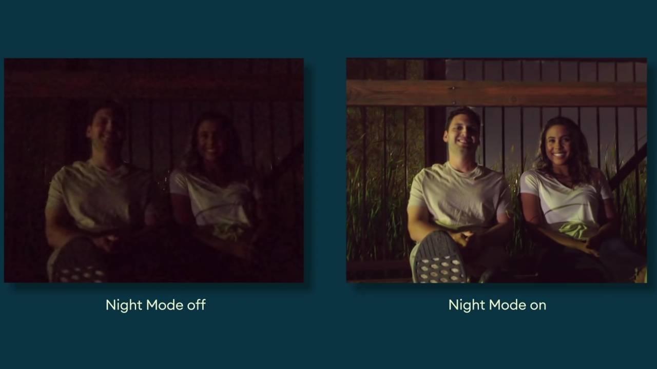 Aplikacja Aparat Go wzbogacona o tryb nocny