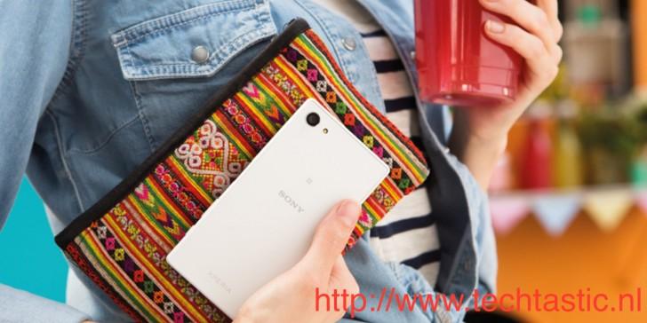 Sony Xperia Z5 Compact pojawi³ siê na promocyjnej fotografii