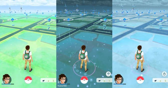Do Pokemon Go trafiaj± efekty pogodowe