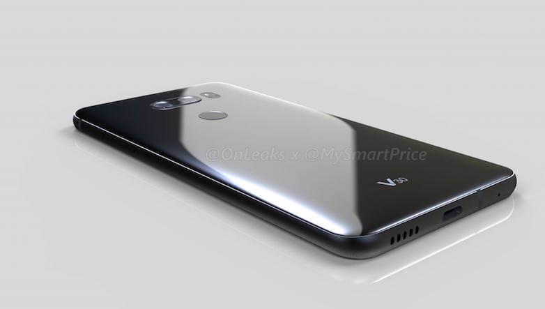 Wyciek³ render makiety LG V30