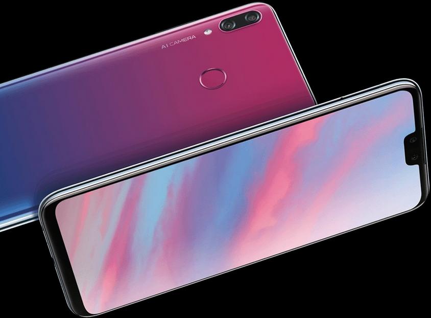 Render i specyfikacja Huawei Enjoy 9 Plus