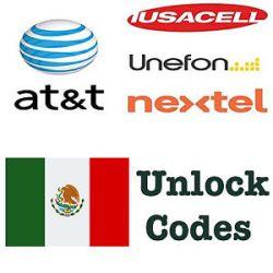 Simlock odblokowanie kodem Huawei z sieci AT&T (Iusacell, Nextel, Unefon) Meksyk