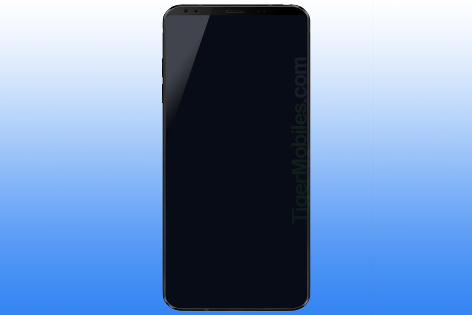Render LG G7 ukazuje nam niemal ca³kiem bezramkowy telefon
