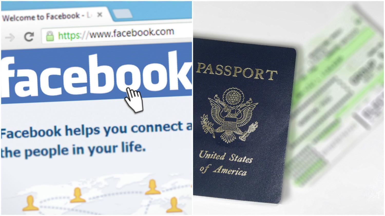 Nazwa konta na Facebooku wymaganym elementem wniosku wizowego