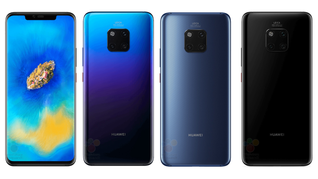 Roland Quandt udostêpnia najnowsze zdjêcia Huawei Mate 20