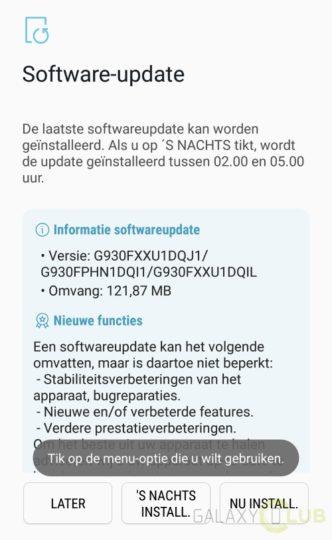 Samsung wyda³ pa¼dziernikow± aktualizacjê zabezpieczeñ Galaxy S7