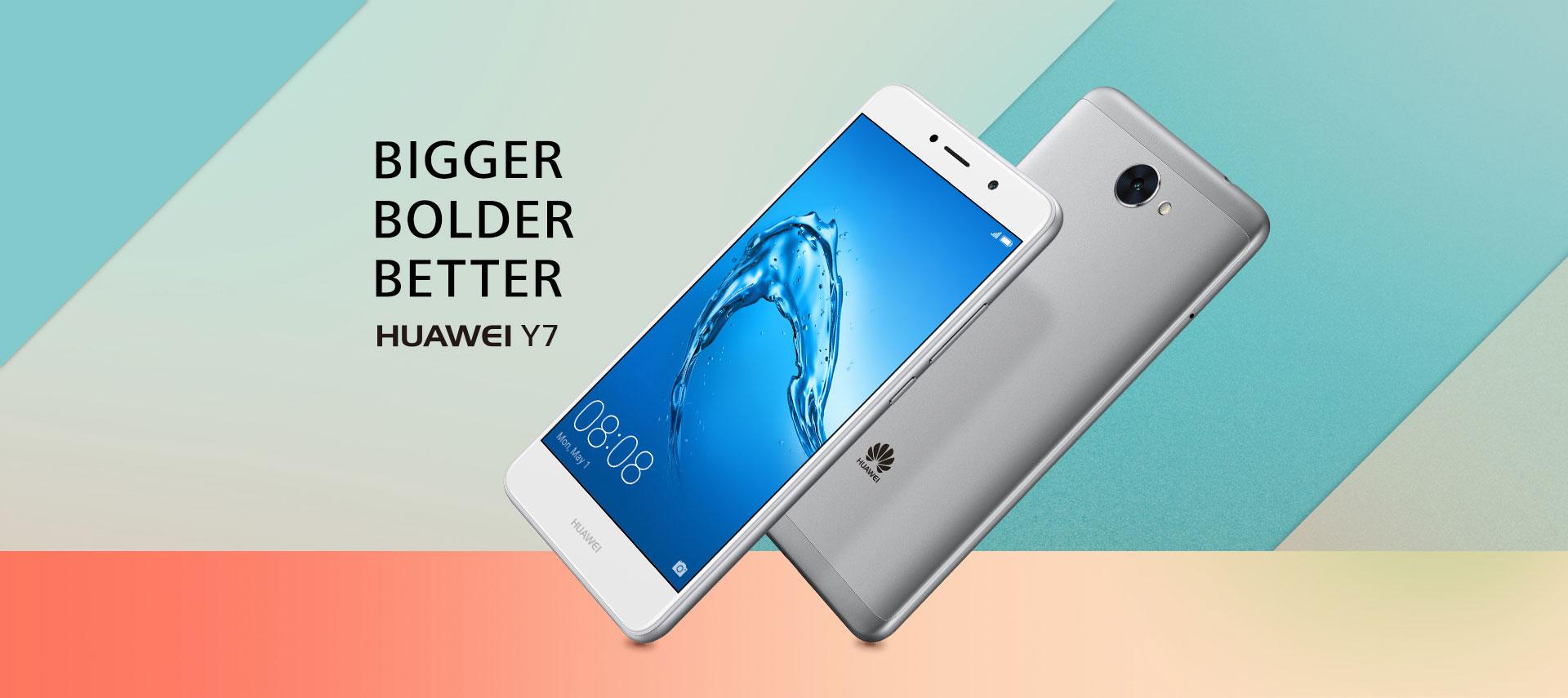 Huawei Y7, jako-taki ¶redniak