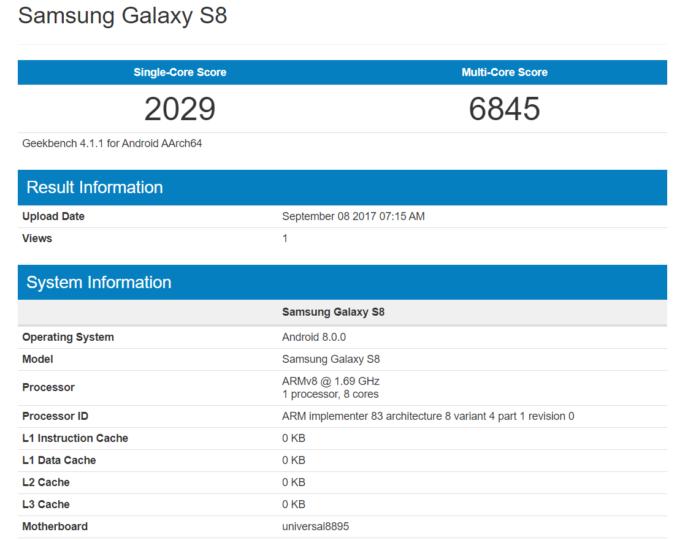 System operacyjny Galaxy S8 zostanie zaktualizowany do Androida Oreo