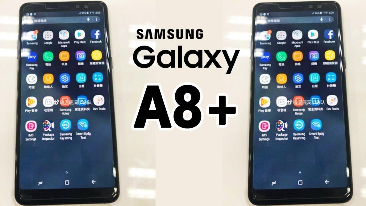 Wyciek³a specyfikacja Samsung Galaxy A8 Plus (2018)