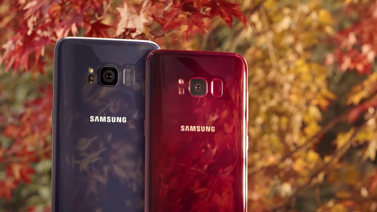 Potwierdzono datê wydania Samsung Galaxy S8 Burgundy Red