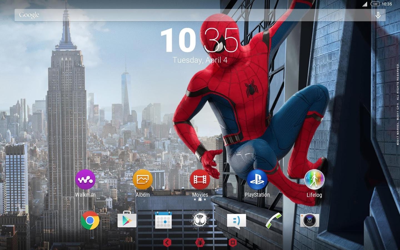 Sony wyda³o fajne tapety i ikony nawi±zuj±ce do Spider-Man: Homecoming