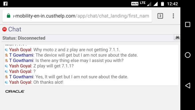 Moto Z Play dostanie Androida 7.1.1 Nougat, choæ nikt nie wie, kiedy