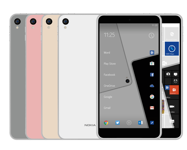 Nokia C1 prawdopodobnie z dwoma systemami operacyjnymi