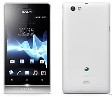 Usuñ simlocka kodem z telefonu Sony-Ericsson Xperia Miro