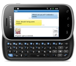 Usuñ simlocka kodem z telefonu Samsung Galaxy Ace Q
