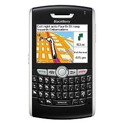 Usuñ simlocka kodem z telefonu Blackberry 8820