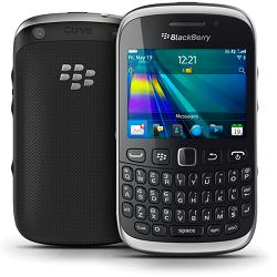 Usuñ simlocka kodem z telefonu Blackberry 9320