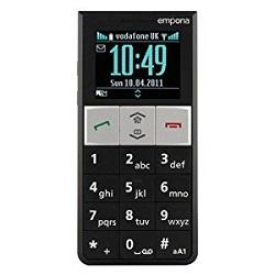 Usuñ simlocka kodem z telefonu Emporia RL1