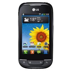 Usuñ simlocka kodem z telefonu LG Optimus Net