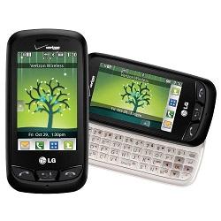Usuñ simlocka kodem z telefonu LG VN270 Cosmos Touch