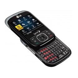 Usuñ simlocka kodem z telefonu LG LN240 Remarq