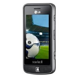 Usuñ simlocka kodem z telefonu LG Scarlet II TV