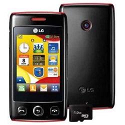 Usuñ simlocka kodem z telefonu LG T300 Wink
