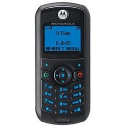 Usuñ simlocka kodem z telefonu Motorola C113a