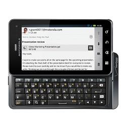 Usuñ simlocka kodem z telefonu Motorola Droid 3