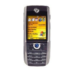 Usuñ simlocka kodem z telefonu Motorola MPx100