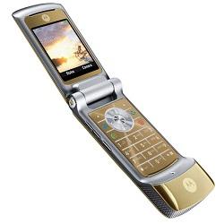 Usuñ simlocka kodem z telefonu Motorola K1 KRZR Champagne Gold