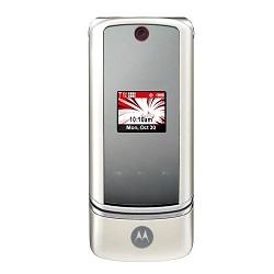 Usuñ simlocka kodem z telefonu Motorola K1m KRZR White