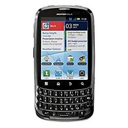 Usuñ simlocka kodem z telefonu Motorola Admiral XT603