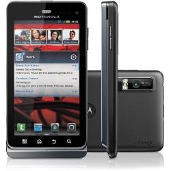 Usuñ simlocka kodem z telefonu Motorola MILESTONE 3 XT860