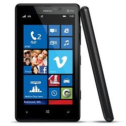 Usuñ simlocka kodem z telefonu Nokia Lumia 820