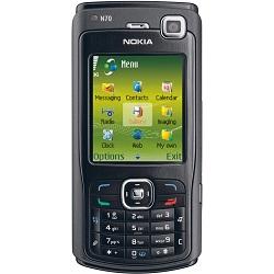 Usuñ simlocka kodem z telefonu Nokia N70