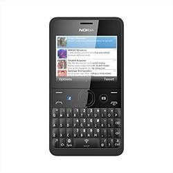 Usuñ simlocka kodem z telefonu Nokia Asha 210