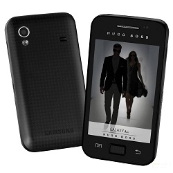 Usuñ simlocka kodem z telefonu Samsung Galaxy Ace Hugo Boss
