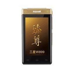 Usuñ simlocka kodem z telefonu Samsung W899