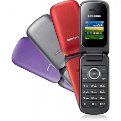 Usuñ simlocka kodem z telefonu Samsung E1195