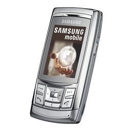 Usuñ simlocka kodem z telefonu Samsung D840