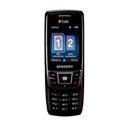 Usuñ simlocka kodem z telefonu Samsung D880