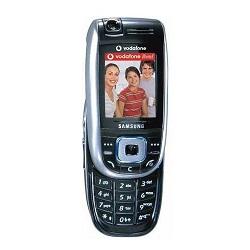 Usuñ simlocka kodem z telefonu Samsung E860V
