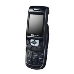 Usuñ simlocka kodem z telefonu Samsung D508