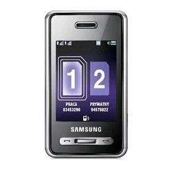 Usuñ simlocka kodem z telefonu Samsung D980